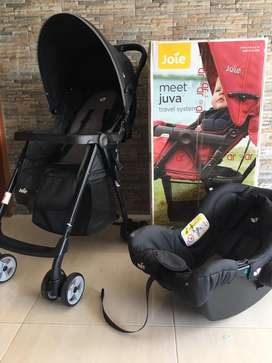 Stroller Joie Meet Juva Travel System