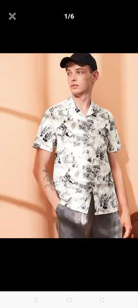 Shirt printed from shein