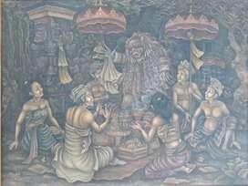 """Lukisan Tradisional Ubud """"Mesegeh"""""""