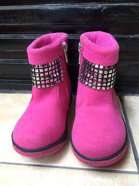 Sepatu booth Frozen Ori