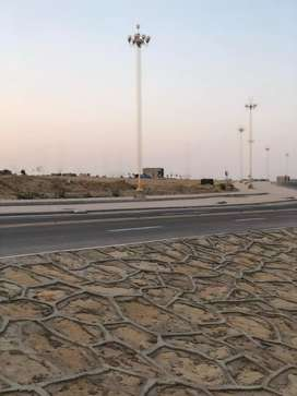 Fullpaid 250sq yard Res plot for sale in Precint 1 at Bahria town KHI.