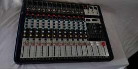 professional mixer equalizer 12 ch 2,8jt
