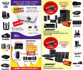 Emi Available !! Onam Special offers for Home theater solutions !!