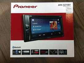 Hu doubeldin pioneer g 215 bt dvd usb aux radio bluetooth