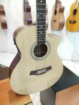 Gitar Akustik Elektrik glos
