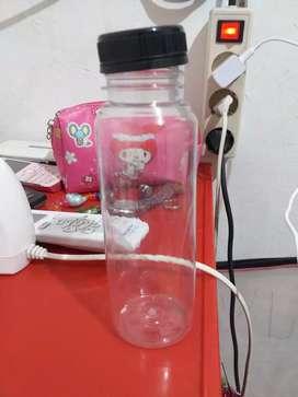Botol plastik untuk minuman/lainnya ukuran 250ml