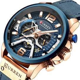 Branded Curren Men's Casual Watch