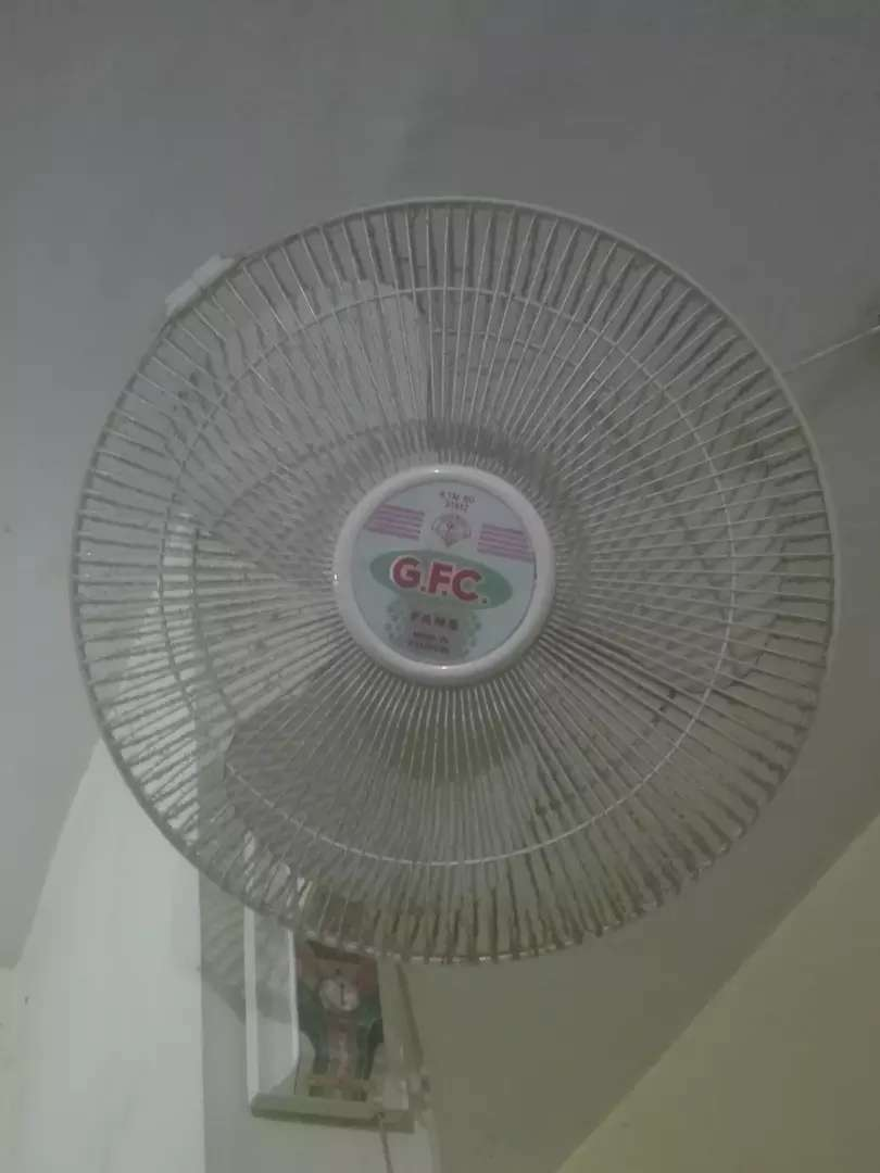 Mint condition wall mounted  fan for sale. 0