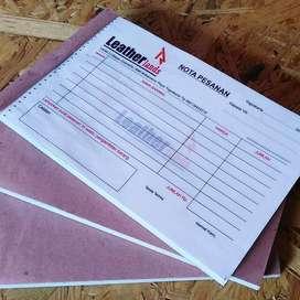 Cetak Nota Invoice Kuitansi Murah - Lubuklinggau Kota