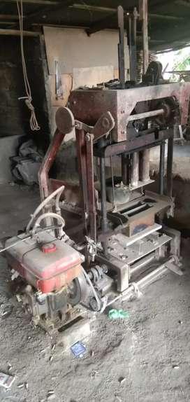 Jual perlengkapan pabrik batako dan paving blok