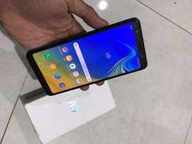 Samsung A7 2018 Blue 4/64Gb Garansi Resmi Sampe Desember 2019 MulusLus