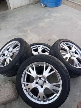"""17""""rims and tyre for sale"""