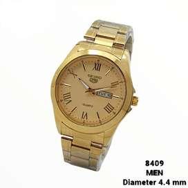 Jam tangan pria Seiko Romawi
