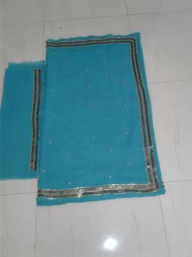 I want to sell hand-embroidered unused saree with
