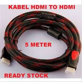 Kabel HDMI to HDMI 5 Meter male-male