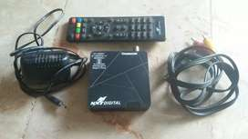 In cable box setup box