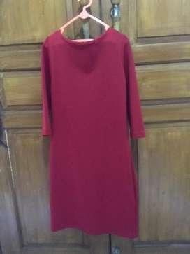 Dress merah bodycon