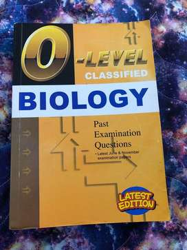 O levels biology (5090) topical past papers