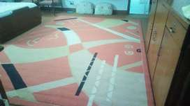 Huge rug 98inches by140inches