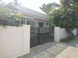 6 cent 1200 sqft 3 bhk house at aluva near malikampeedika