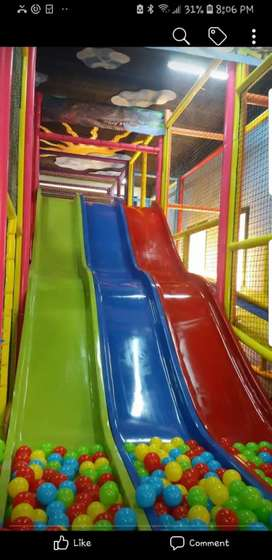 Slides 20 feet and any size