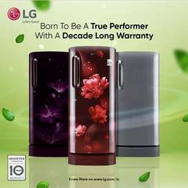 Lg 270L single door silver colour At wholesale price call or visit sho