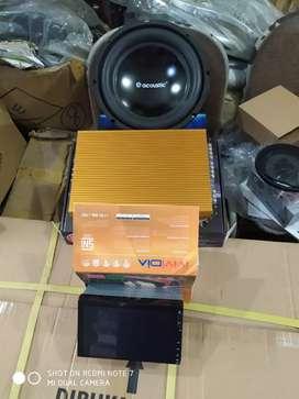 Tv mp 5 semi android vividia + paket sound (!Megah top )