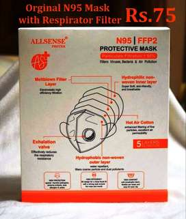 N95 Mask with Respirator Filter 5 Layers Face mask wholesale n Retail