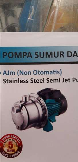 Semi jet pump stainless steel leo AJM 30s