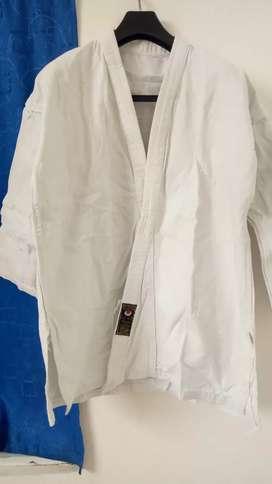 Pakaian Karate atau Taekwondo bonus hand grip (merk everblast)