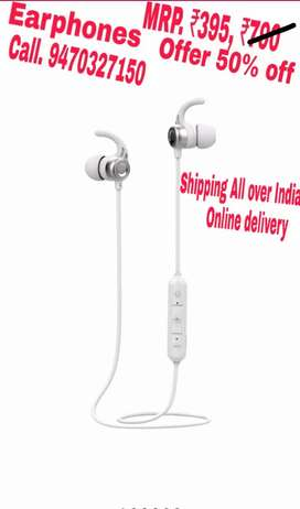Earphones Available