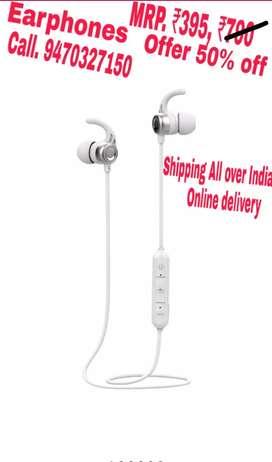 Earphones Available