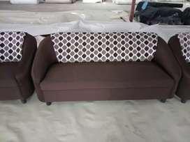3+1+1 fabric sofa set fully new piece