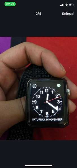 Apple watch stainless 42 mm