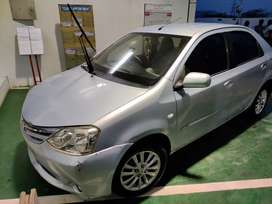 Toyota Etios VXD 2012 Diesel 200000 Km Driven