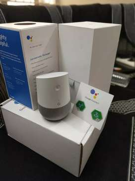 Google Home with sealed pack & Bill