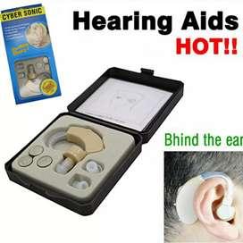Cyber Sonic Alat Bantu Dengar Hearing Aid - JZ-1088A - Beige