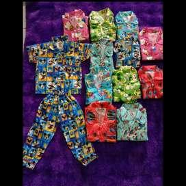 Baju Piyama Anak Perempuan/laki-laki