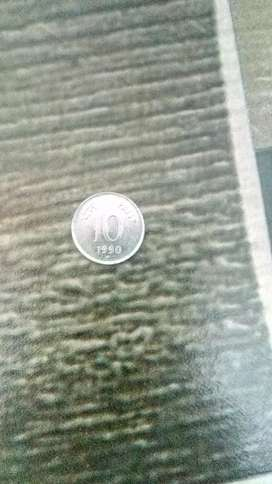 Old coin 10 pesa
