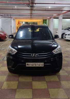 Hyundai Creta 1.6 E Plus, 2016, Petrol