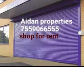 1800 sqft shop for rent near pallimukke in kollam