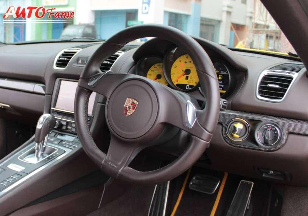 Porsche Cayman 2.7 Sport Exhaust Burmester Audio 2014 NIK 2013 GRESSS!