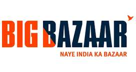 opening in big bazar for billing existives , counter sales