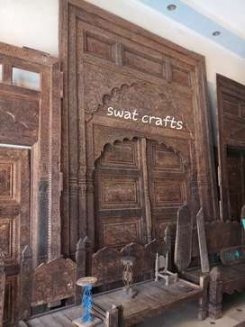 Swati big wooden door