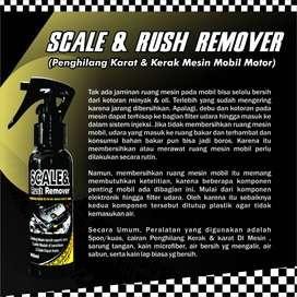 Mesin tidak mudah Panas dengan pasang SCALE & RUST REMOVER