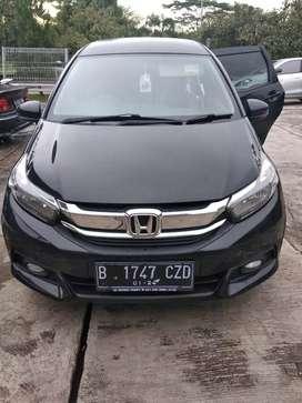 Mobilio type E CVT automatic pemakaian 2019 hitam mulus