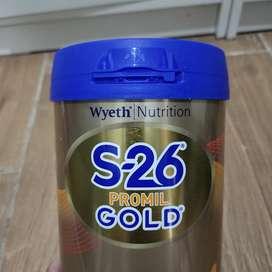 Susu formula S26 Promil Gold 900g