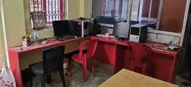 Furnished room for rent for office