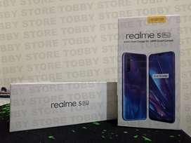 Oppo Realme 5 Pro 4 128 SEGEL NO REPACK Garansi Resmi - Crystal Green