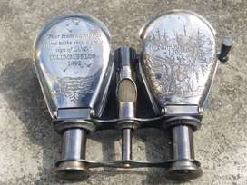Brass made antique finish small binocular . This can be perfect Royal